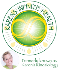 Karen's Infinite Health Logo