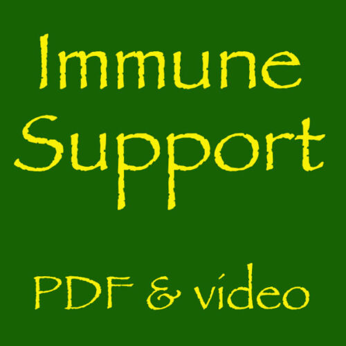 immune support pdf and video